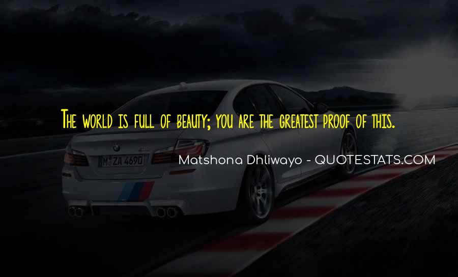 Matshona Dhliwayo Quotes #161143