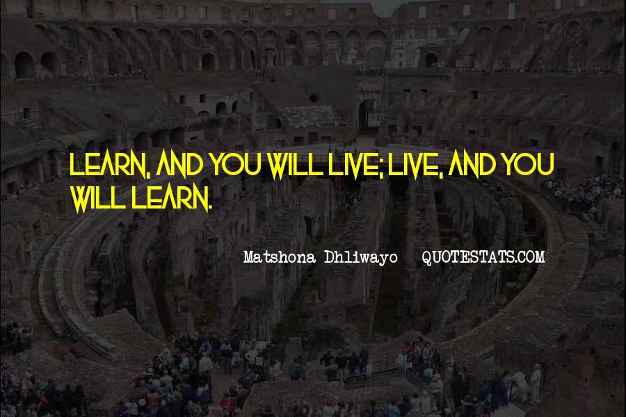 Matshona Dhliwayo Quotes #1730281