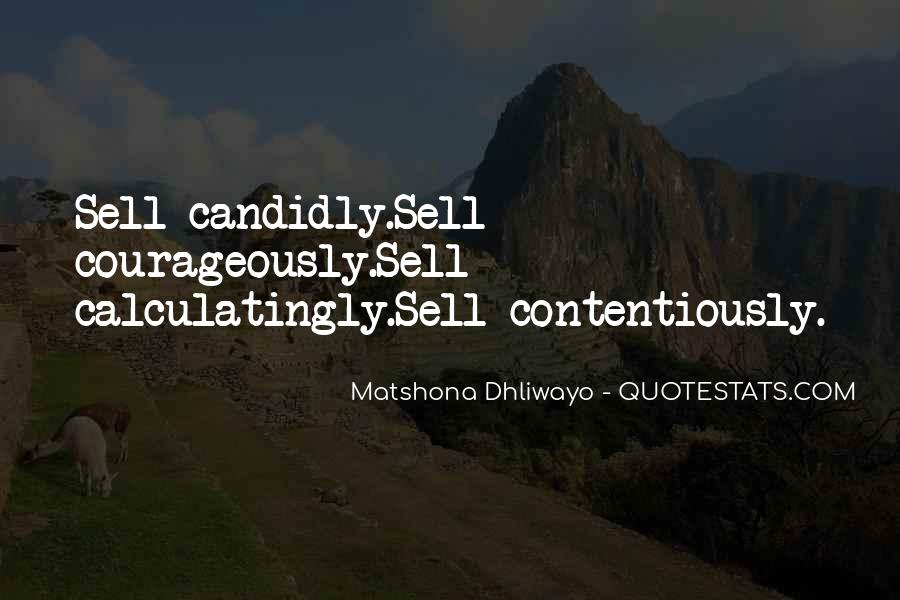 Matshona Dhliwayo Quotes #1766948