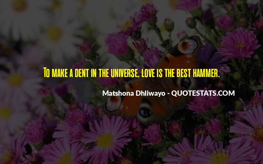 Matshona Dhliwayo Quotes #316667