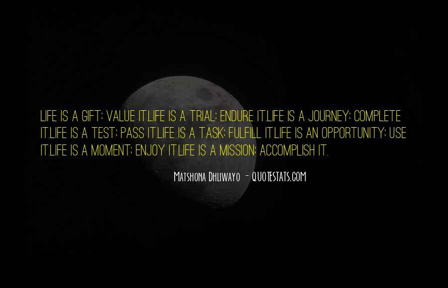 Matshona Dhliwayo Quotes #612605