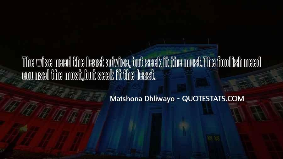 Matshona Dhliwayo Quotes #665200