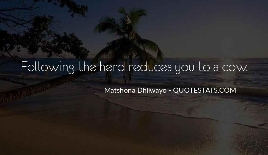 Matshona Dhliwayo Quotes #751196