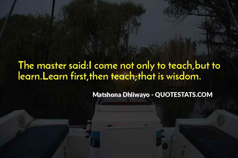Matshona Dhliwayo Quotes #971833
