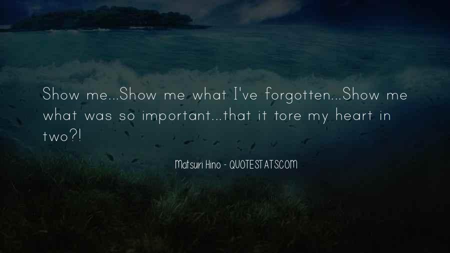 Matsuri Hino Quotes #13942