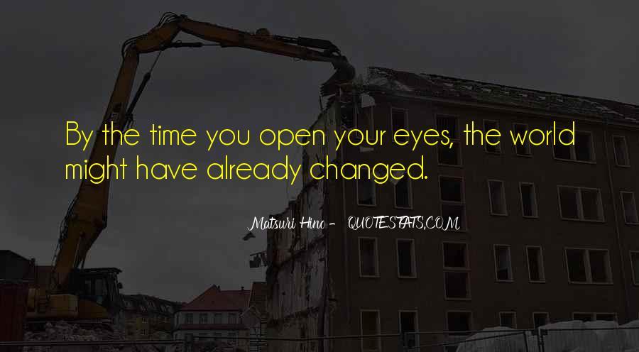Matsuri Hino Quotes #1414181