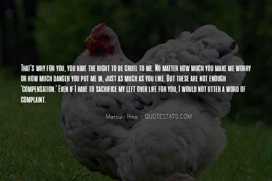 Matsuri Hino Quotes #1484936