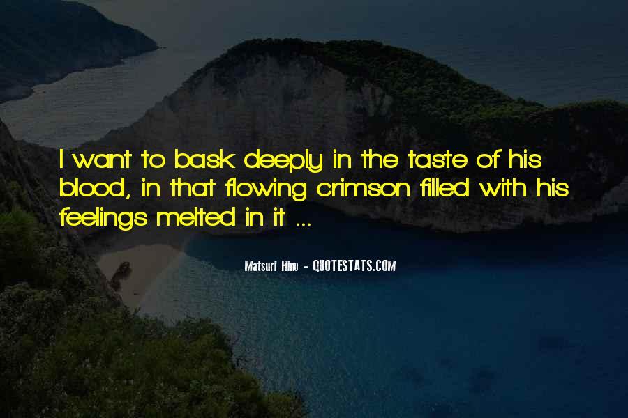 Matsuri Hino Quotes #176665