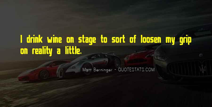 Matt Berninger Quotes #1015515