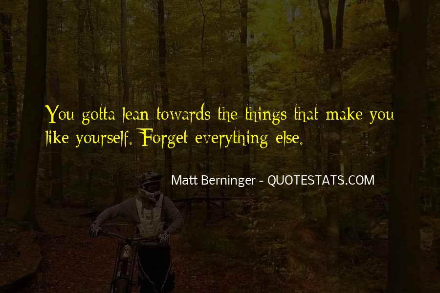 Matt Berninger Quotes #1049299