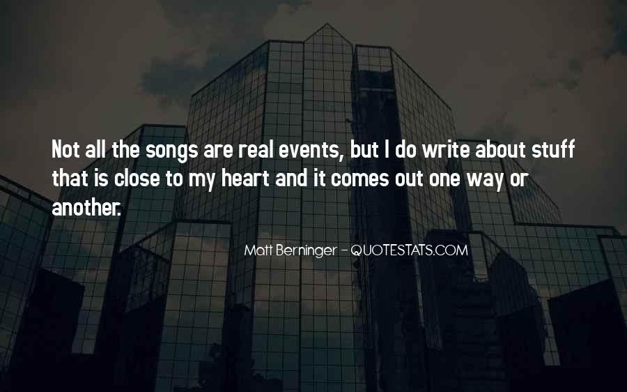 Matt Berninger Quotes #1189168