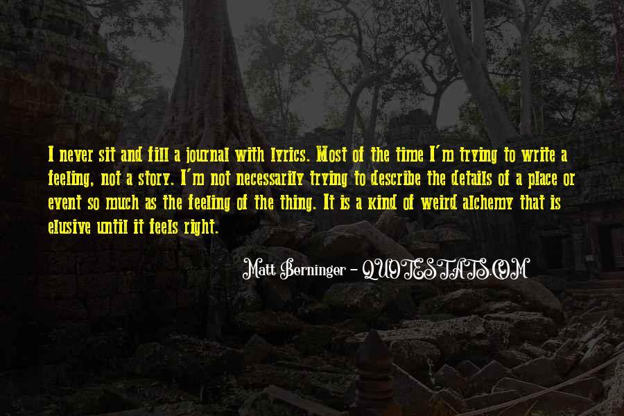Matt Berninger Quotes #1244113