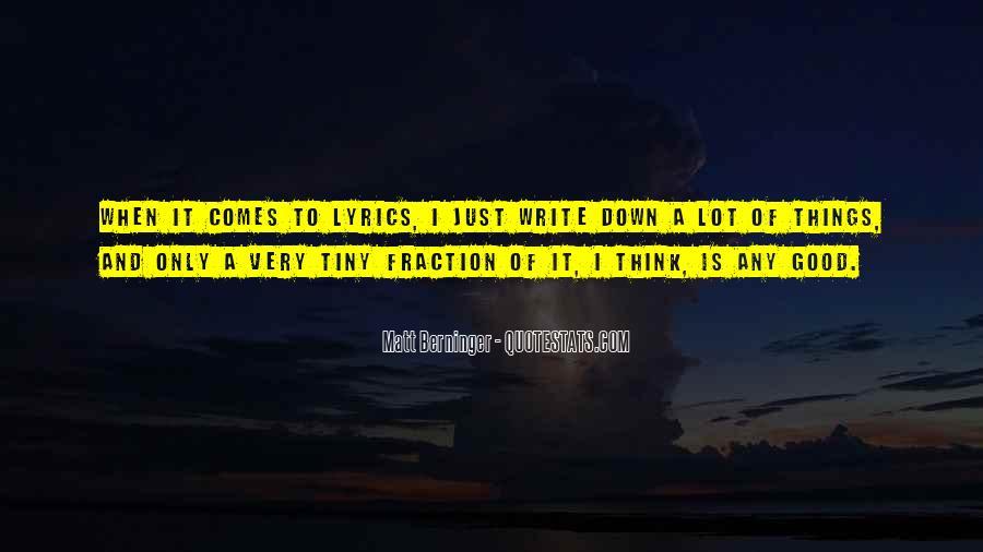 Matt Berninger Quotes #1585019
