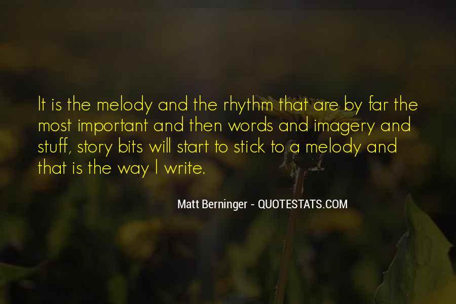 Matt Berninger Quotes #267109