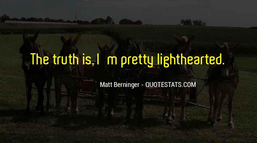 Matt Berninger Quotes #298461