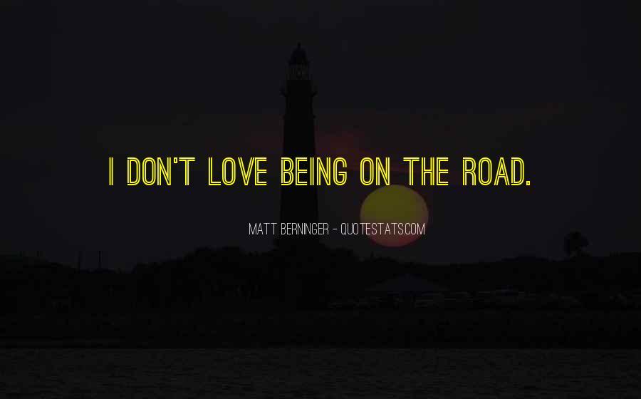Matt Berninger Quotes #371499