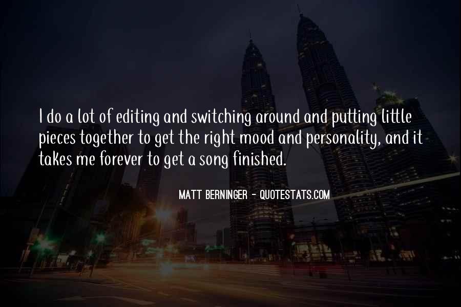 Matt Berninger Quotes #563206