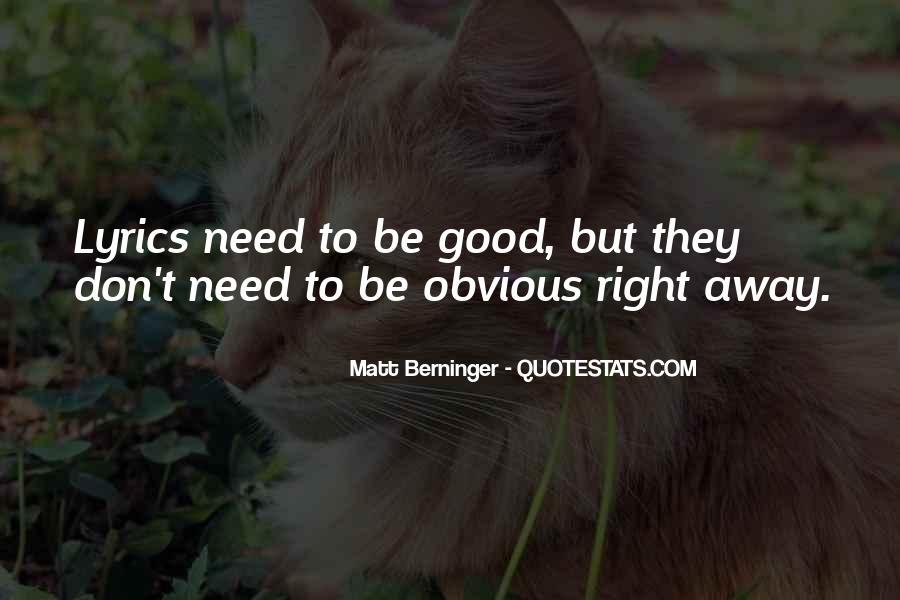 Matt Berninger Quotes #608026