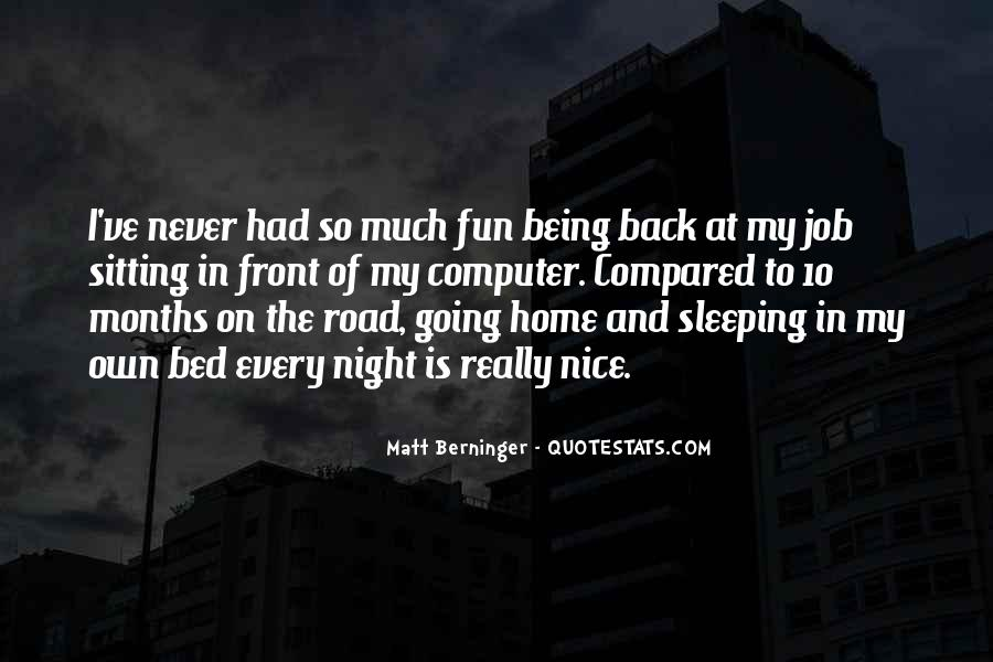 Matt Berninger Quotes #745062