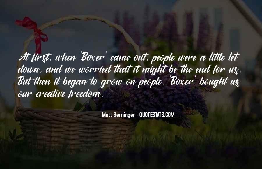Matt Berninger Quotes #84038