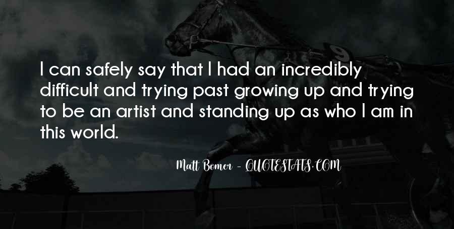 Matt Bomer Quotes #1052192