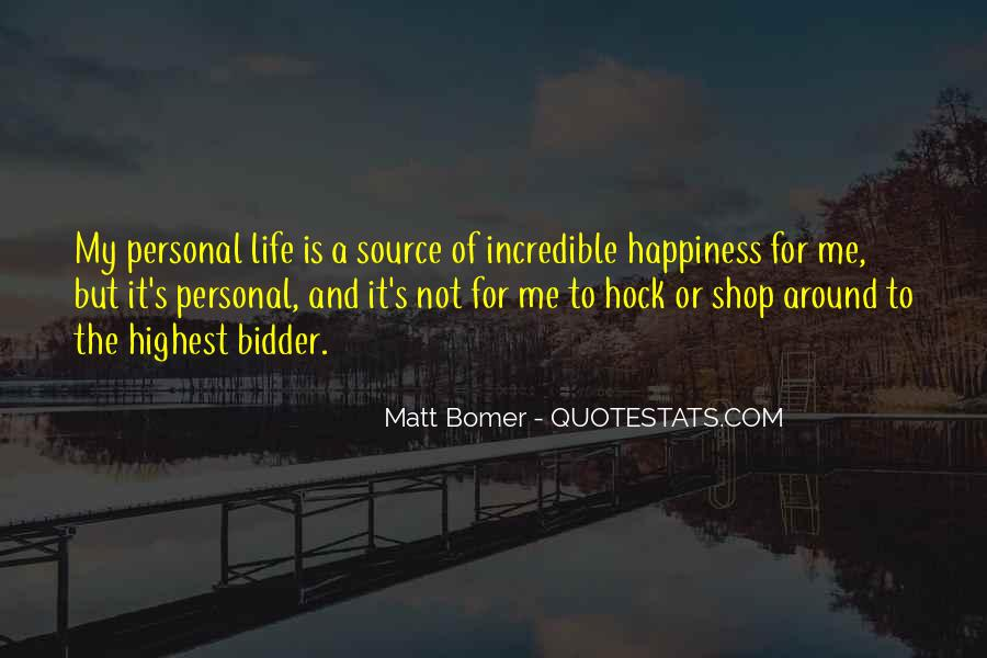 Matt Bomer Quotes #1430467