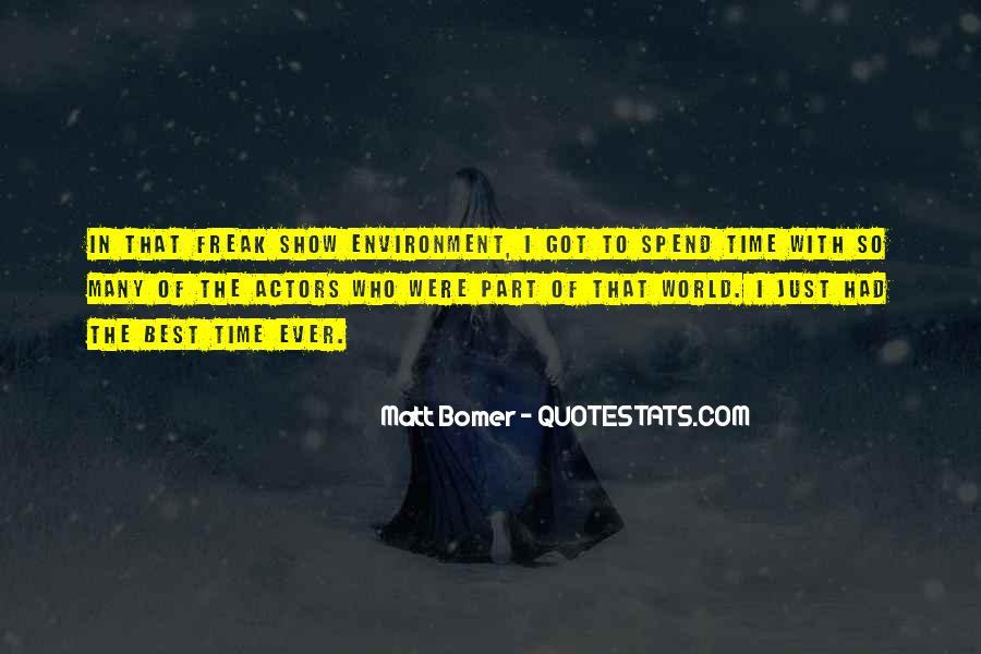 Matt Bomer Quotes #1848635