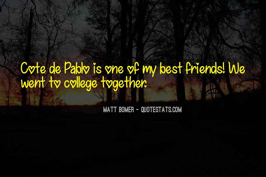 Matt Bomer Quotes #240155