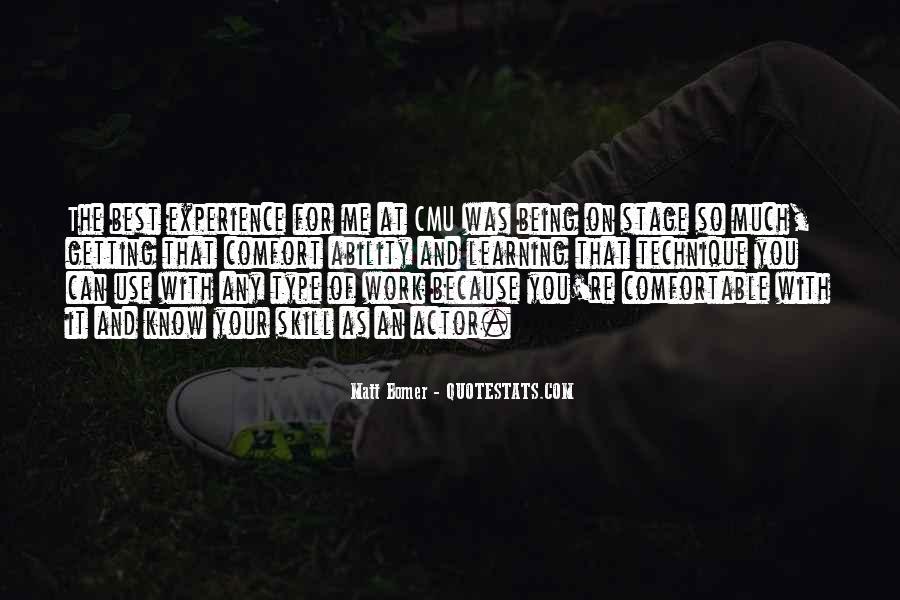 Matt Bomer Quotes #561526