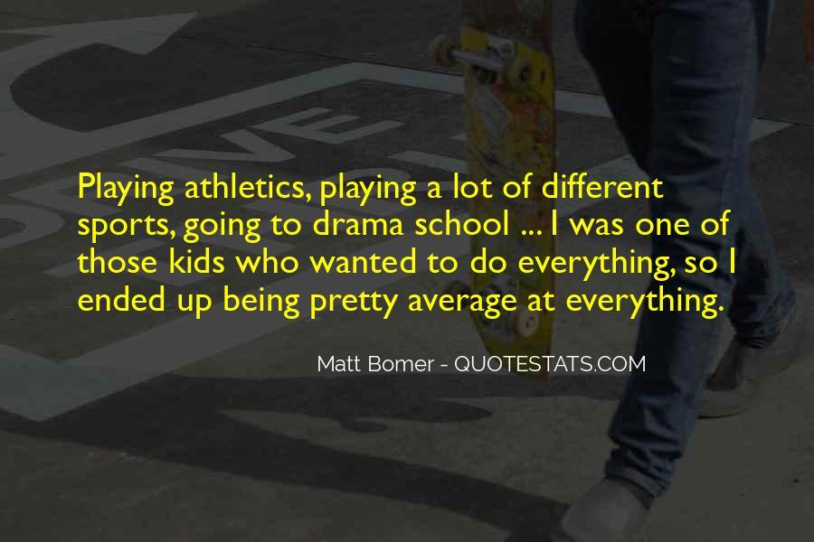 Matt Bomer Quotes #631445