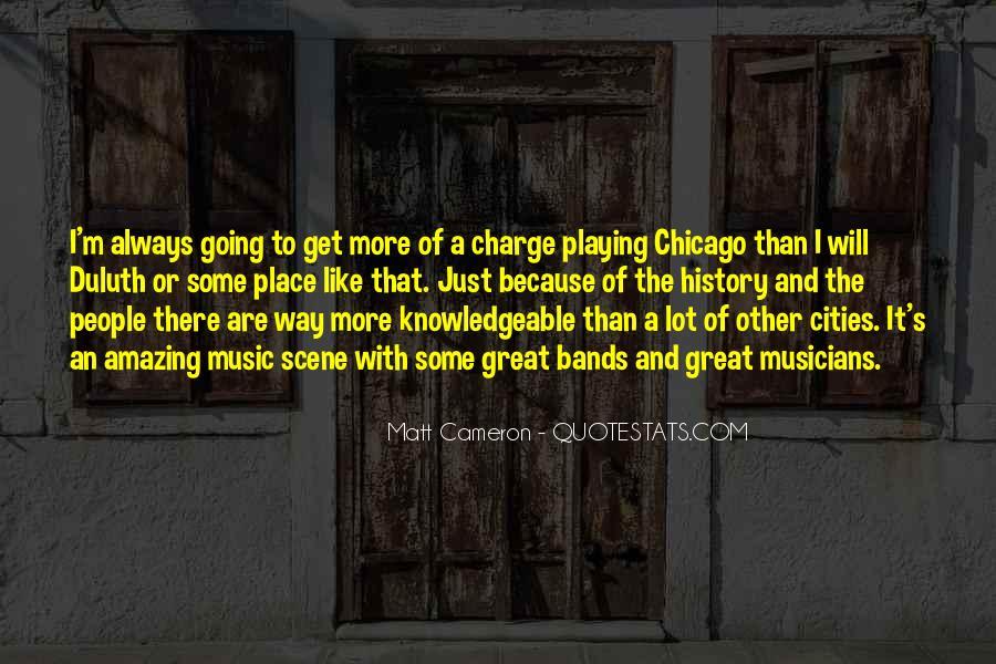 Matt Cameron Quotes #802986