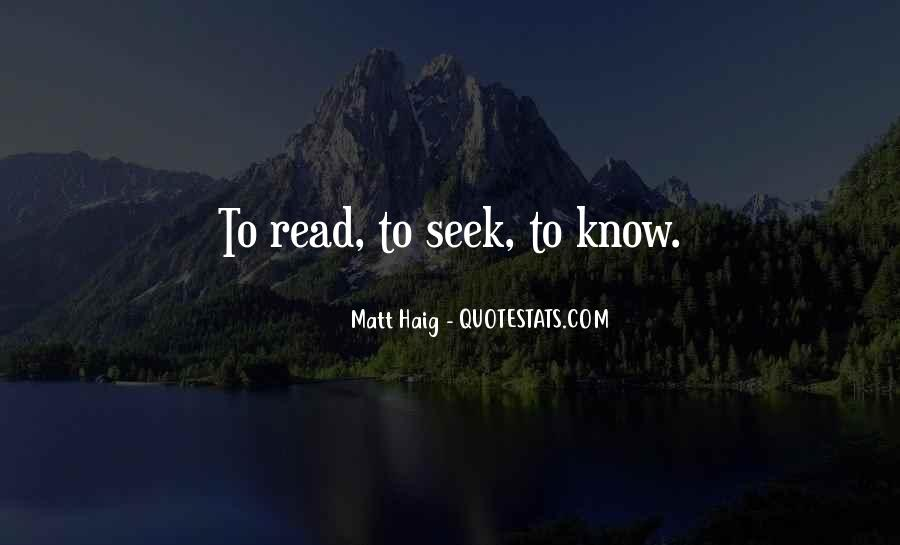 Matt Haig Quotes #1137698