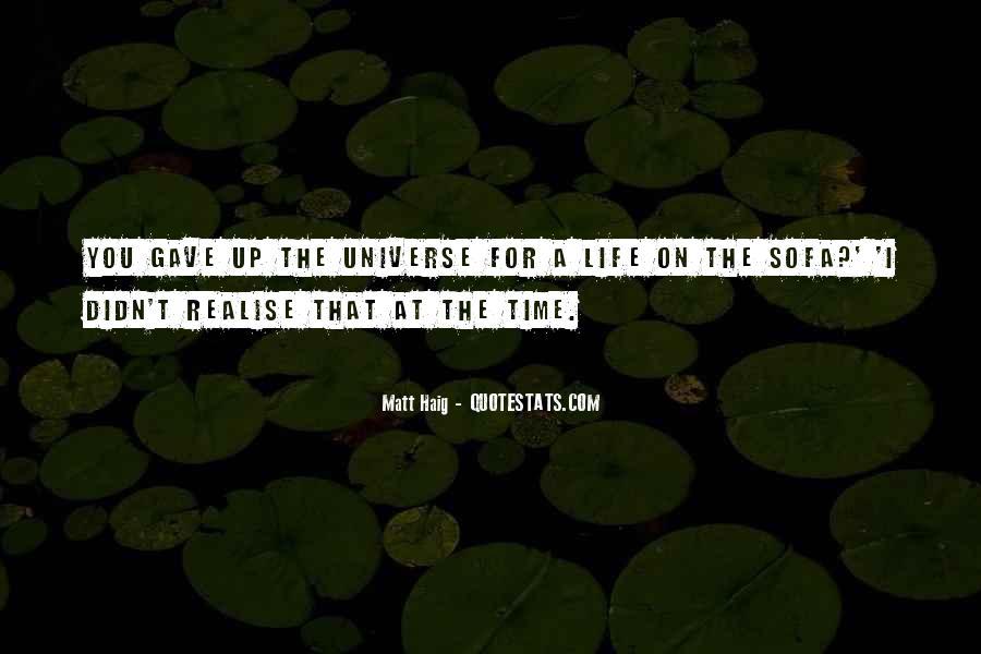 Matt Haig Quotes #1205936