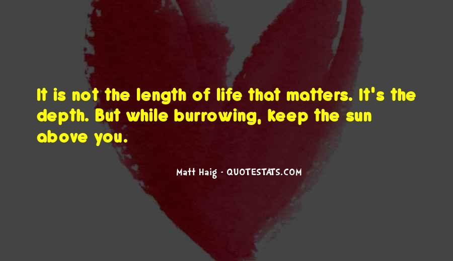 Matt Haig Quotes #315229