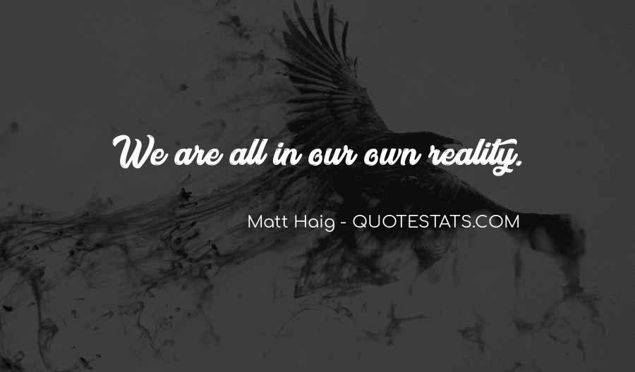Matt Haig Quotes #413198