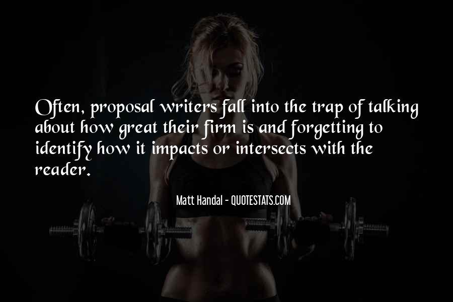 Matt Handal Quotes #1680649