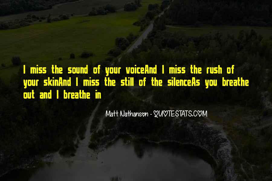 Matt Nathanson Quotes #147777