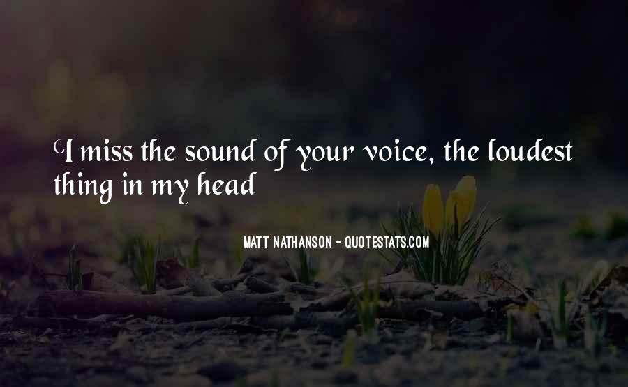 Matt Nathanson Quotes #907610