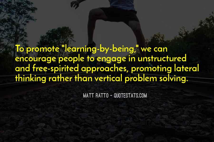 Matt Ratto Quotes #430488