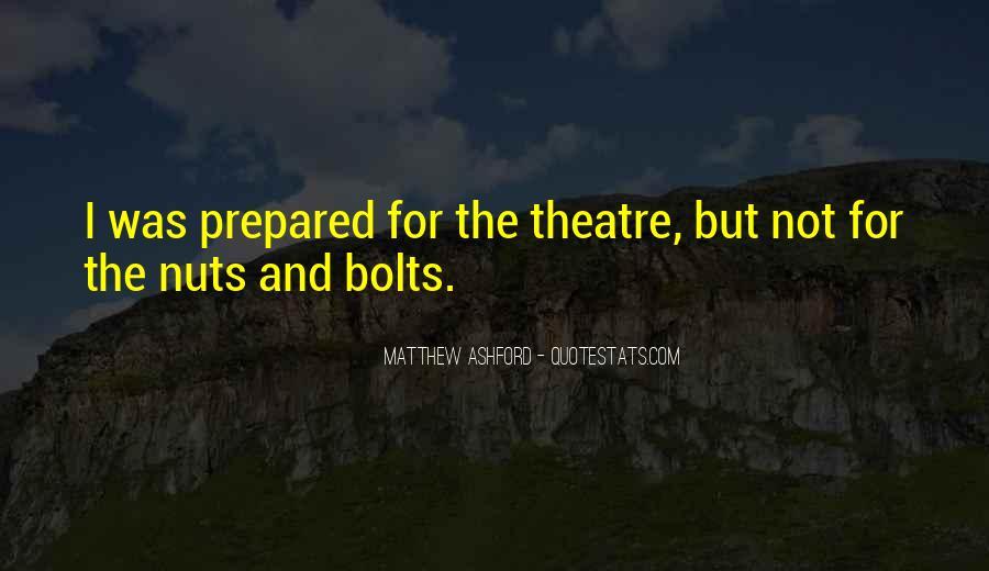 Matthew Ashford Quotes #158289