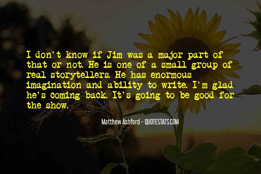 Matthew Ashford Quotes #508507