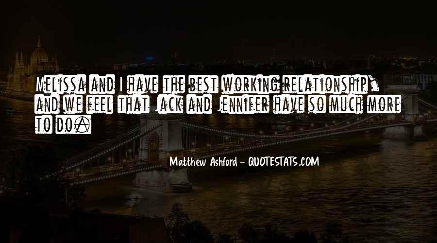 Matthew Ashford Quotes #770984