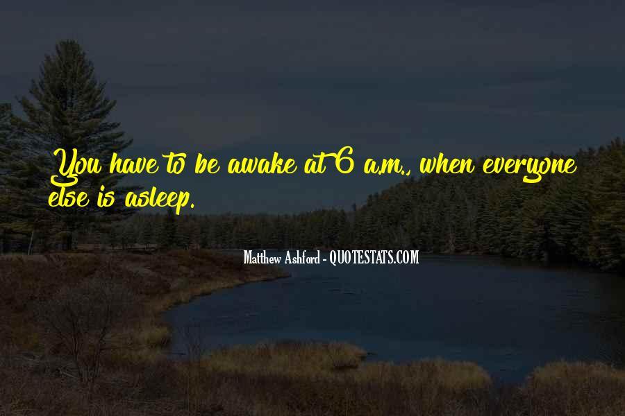 Matthew Ashford Quotes #91633