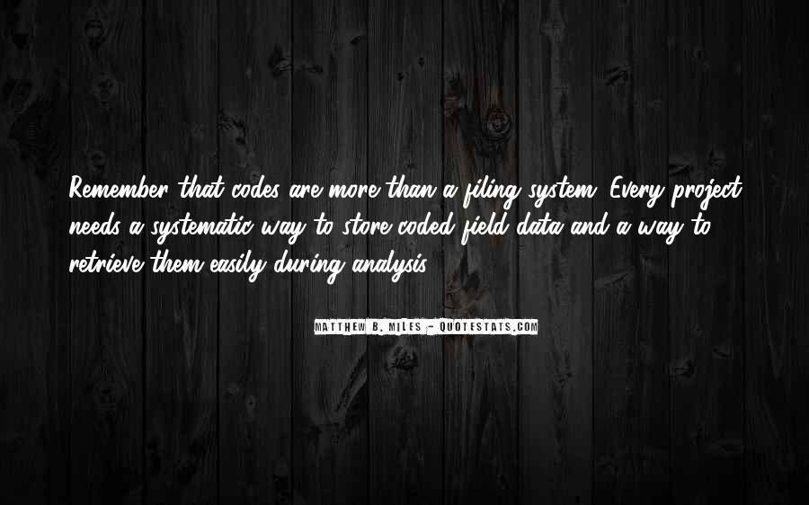 Matthew B. Miles Quotes #1018095