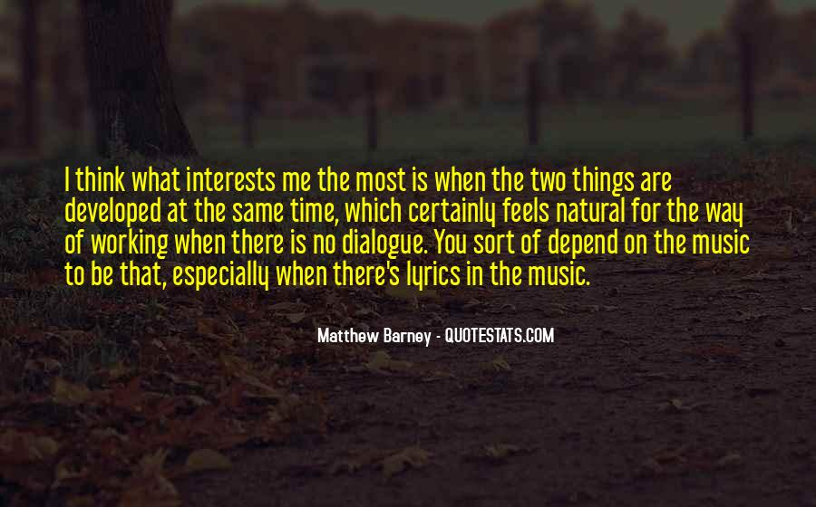 Matthew Barney Quotes #1038820