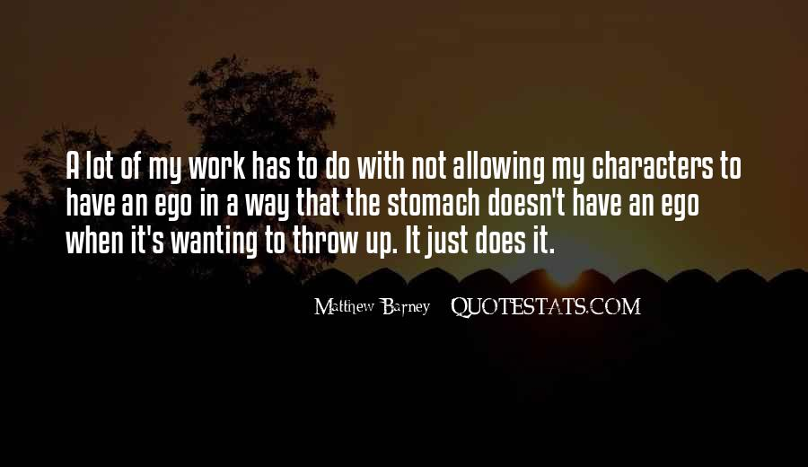Matthew Barney Quotes #1130095