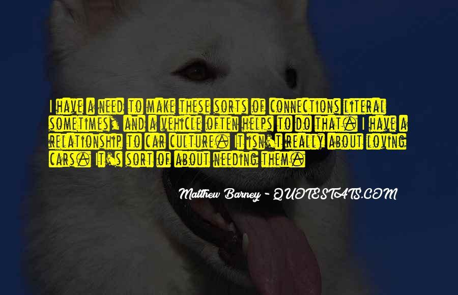 Matthew Barney Quotes #768382