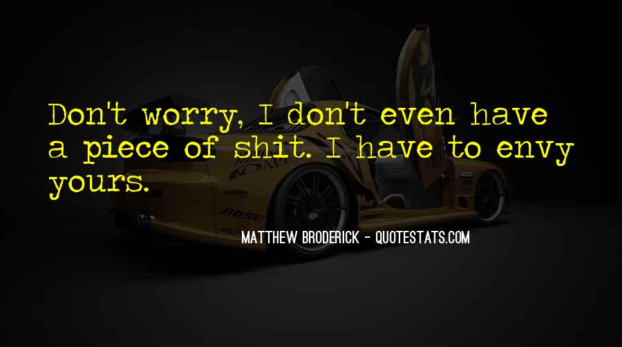 Matthew Broderick Quotes #1570350