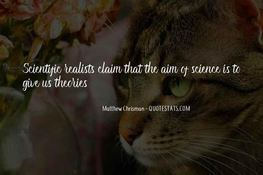 Matthew Chrisman Quotes #520239