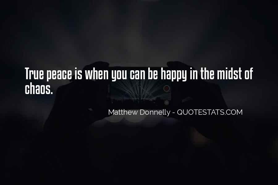 Matthew Donnelly Quotes #1166727